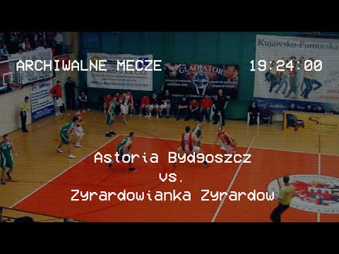 Sezon 2009/2010 Astoria Bydgoszcz 135:90 Żyrardowianka Żyrardów