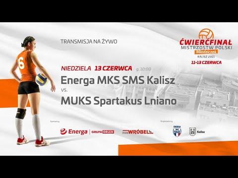 Read more about the article Energa MKS SMS Kalisz – MUKS Spartakus Lniano
