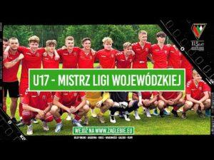 Read more about the article ZAGŁĘBIE SOSNOWIEC U17, MISTRZ I LIGI WOJEWÓDZKIEJ