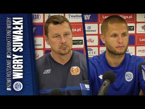 Read more about the article Konferencja | Wigry Suwałki 0:0 Znicz Pruszków