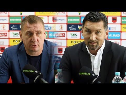 Read more about the article 2021-06-13 Górnik Łęczna – Sandecja 3-0 (1-0), pomeczowa konferencja prasowa