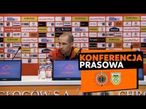 Read more about the article Konferencja prasowa po meczu Chrobry Głogów – Arka Gdynia