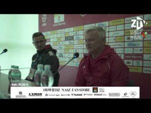 Konferencja prasowa po meczu Miedzi z Zagłębiem. Musimy szukać więcej jakości…