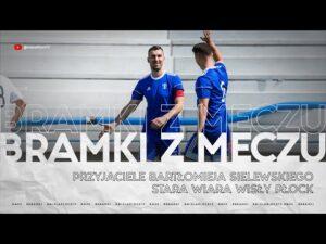Read more about the article Przyjaciele Bartłomieja Sielewskiego – Stara Wiara Wisły Płock 7:3 | Bramki z meczu