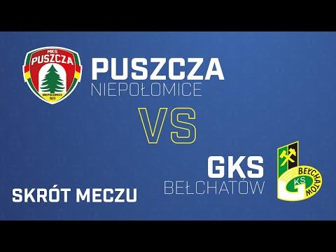 Read more about the article [Skrót] Puszcza – GKS Bełchatów 2-0 | PUSZCZA TV