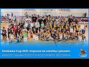 Read more about the article Stalówka Cup 2021. Impreza na szóstkę z plusem. Radośćnajmłodszych koszykarzy bezcenna.