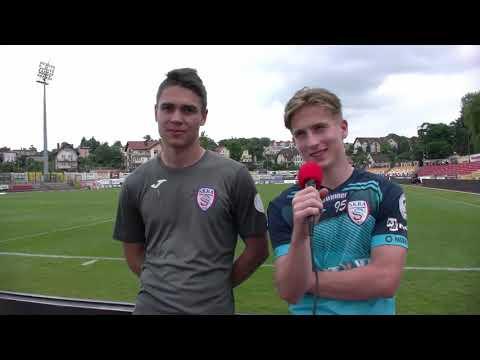 Read more about the article Mikołaj Biegański i Daniel Pietraszkiewicz po półfinałowym meczu z Chojniczanką | 15.06.2021