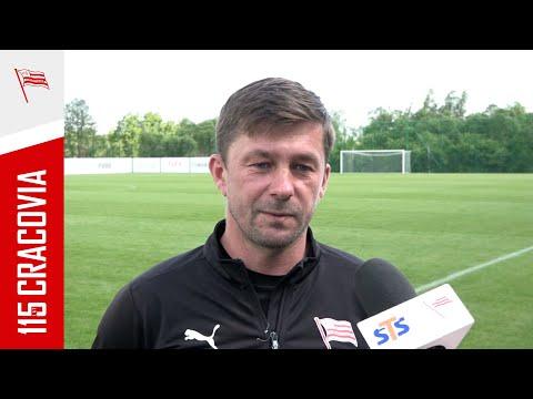 Piotr Giza po meczu z Orlętami Radzyń Podlaski (02.06.2021)