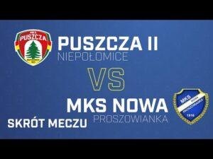 Read more about the article [Skrót] Puszcza Niepołomice – MKS NOWA Proszowianka 5-1 | PUSZCZA TV