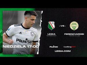 Read more about the article Mecz kontrolny Legia Warszawa – Ferencvárosi TC 0:2
