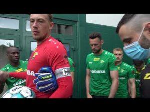 Read more about the article ⚫️ CZORNE JAK WUNGIEL – Kulisy meczu ze Stomilem Olsztyn