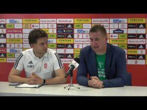 Konferencja prasowa po meczu ŁKS Łódź – Górnik Łęczna (20.06.2021)