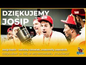 """Read more about the article Josip Sobin – świetny człowiek, znakomity zawodnik. Dziękujemy za grę w mistrzowskiej ,,Stalówce"""""""