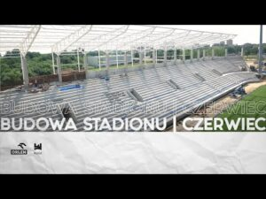 Read more about the article Budowa stadionu   Czerwiec 2021