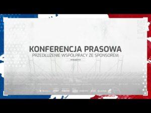 Read more about the article LIVE 🔵⚪🔴 Przedłużenie współpracy ze sponsorem. Konferencja prasowa.
