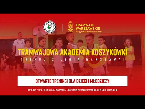 Read more about the article Tramwajowa Akademia Koszykówki – relacja z pierwszego weekendu | Legia Warszawa Koszykówka