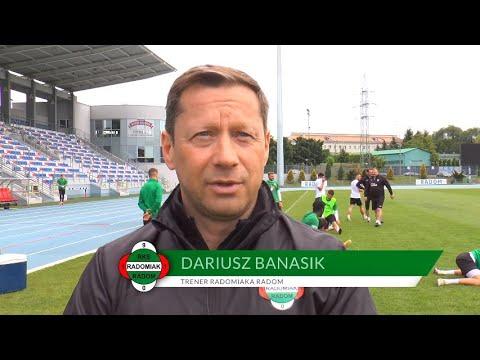Trener Dariusz Banasik przed meczem z Arką [RADOMIAK.TV]