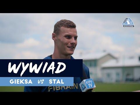 Wiktor Kaczorowski przed meczem z GKS Katowice