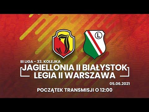 III Liga. Jagiellonia II Białystok – Legia II Warszawa.