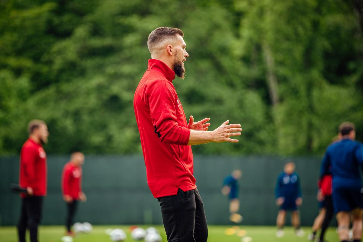 """pawel drechsler lks lodz 1 - Najpierw """"rzeczy kluczowe dla stylu gry"""". Przygotowania do meczu z GKS Tychy"""