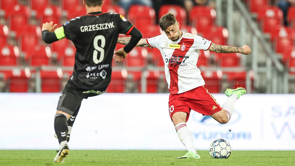 Read more about the article Premiera na remis. GKS Tychy – ŁKS 1:1