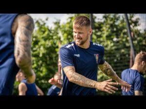 Read more about the article Ostatni etap przygotowań – Piotr Parzyszek trenuje z drużyną