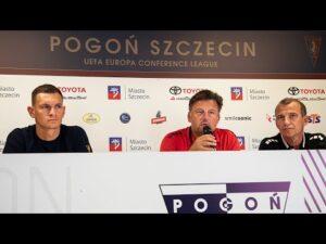 Read more about the article Kosta Runjaic i Damian Dąbrowski przed meczem z NK Osijek (KONFERENCJA)