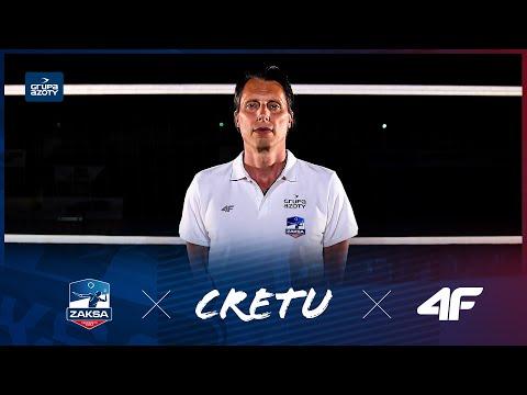 Read more about the article GHEORGHE CRETU nowym trenerem klubowych mistrzów Europy | ZAKSA x CRETU x 4f