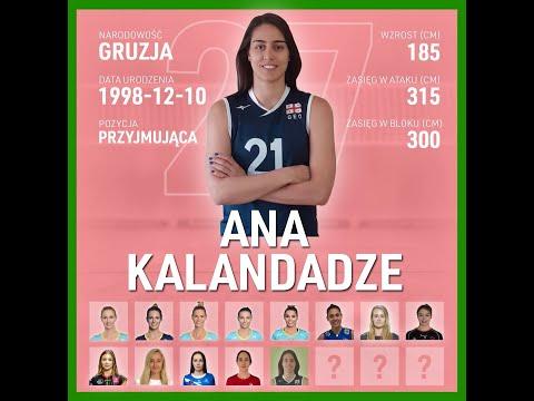 Read more about the article Ana Kalandadze   Nowa przyjmująca KS DevelopRes Rzeszów   TAURONLiga 21/22