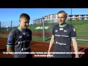 Read more about the article Kristers Tobers i Jakub Kałuziński po sparingu ze Stomilem Olsztyn