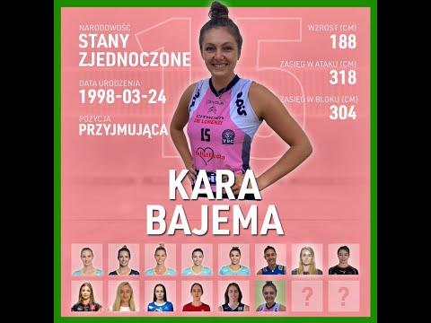 Read more about the article Kara Bajema   Nowa przyjmująca KS DevelopRes Rzeszów   TAURONLiga 21/22