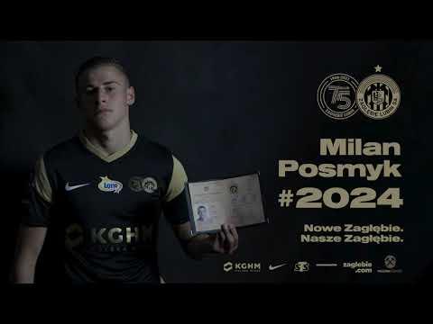 You are currently viewing Milan Posmyk na dłużej w KGHM Zagłębiu!