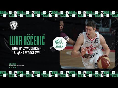 Read more about the article Luka Ašćerić nowym zawodnikiem Śląska Wrocław!
