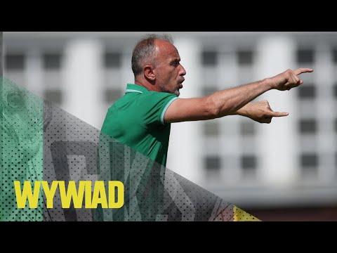 Read more about the article [GKS TV] Trener Jacek Trzeciak o meczu z Piastem Gliwice