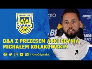 Read more about the article Q&A Z PREZESEM ARKI MICHAŁEM KOŁAKOWSKIM