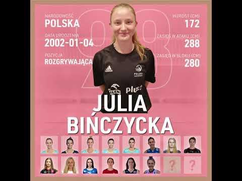 Read more about the article Julia Bińczycka   Nowa rozgrywająca KS DevelopRes Rzeszów   TAURONLiga 21/22