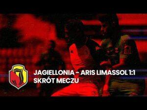 Read more about the article Skrót meczu Jagiellonia Białystok vs Aris Limassol (1-1)