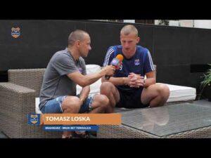 Read more about the article Tomasz Loska nie ukrywa, że drużyna ostatnio ciężko pracowała
