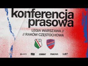 Read more about the article Konferencja prasowa przed meczem o Superpuchar Polski z Legią Warszawa