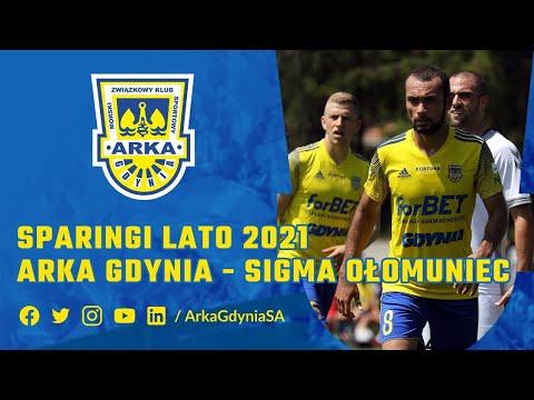 Read more about the article SPARINGI LATO 2021: ARKA GDYNIA – SIGMA OŁOMUNIEC