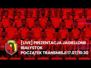 Read more about the article [Studio Live] Prezentacja Jagiellonii Białystok