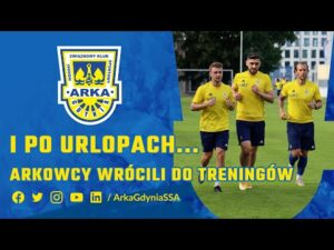 Read more about the article I PO URLOPACH… ARKOWCY WRÓCILI DO TRENINGÓW!