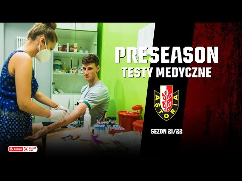 Read more about the article PRE-SEASON 2021/2022 | Badania medyczne