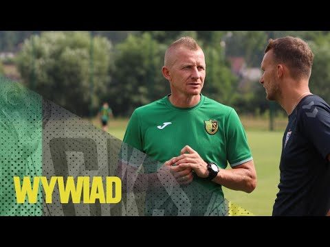 Read more about the article [GKS TV] Dariusz Kłus: Cieszy, że zagraliśmy dwa mecze na zero z tyłu