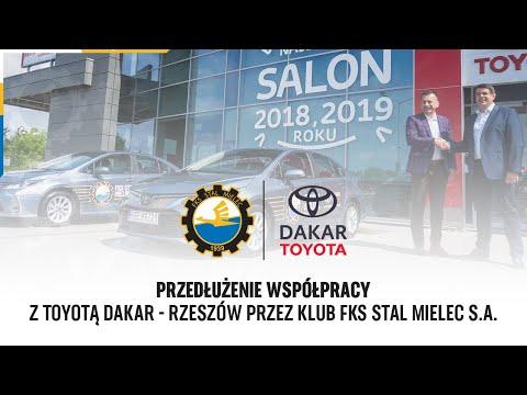 You are currently viewing TV Stal: Przedłużenie współpracy z Toyotą Dakar – Rzeszów przez Klub FKS Stal Mielec S.A.