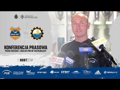Read more about the article TV Stal: Konferencja prasowa przed meczem 1. kolejki PKO BP Ekstraklasy