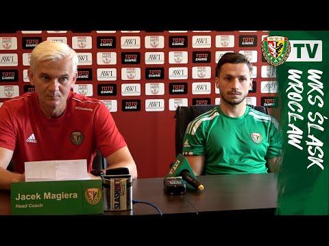 You are currently viewing Konferencja przed meczem z Aratatem | J. Magiera, P. Janasik