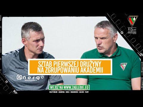 Read more about the article Sztab pierwszej drużyny na zgrupowaniu Akademii | Co ważnego miał do przekazania Kazimierz Moskal ?