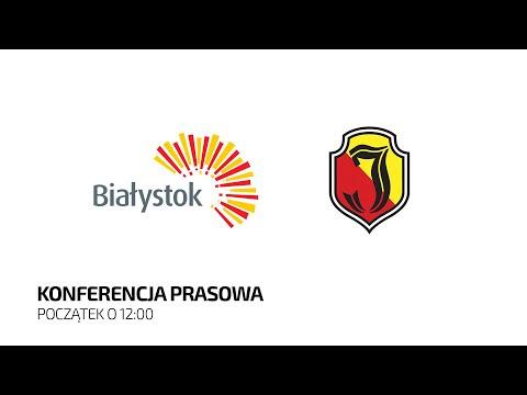 Read more about the article [LIVE] Podpisanie umowy współpracy między Miastem Białystok i Jagiellonią Białystok