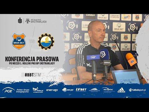 Read more about the article TV Stal: Konferencja prasowa po meczu 1. kolejki PKO BP Ekstraklasy